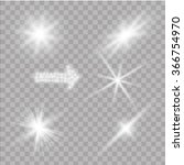glow special effect light ...   Shutterstock .eps vector #366754970