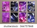 set of brochure  poster design... | Shutterstock .eps vector #366757868