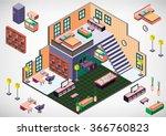 illustration of info graphic...   Shutterstock .eps vector #366760823