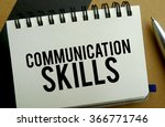 communication skills memo... | Shutterstock . vector #366771746