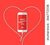 Phone  Wire  Heart  Valentine'...