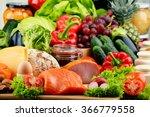 Variety Of Organic Food...