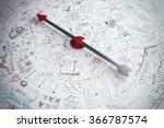 business compass   Shutterstock . vector #366787574