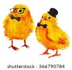 gentleman hipster chick with...   Shutterstock . vector #366790784