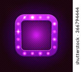 retro square  banner with...   Shutterstock .eps vector #366794444