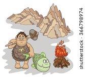 vector illustration  design... | Shutterstock .eps vector #366798974