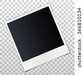 photo frame with shadow | Shutterstock .eps vector #366810134
