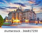 oslo   national theater  norway | Shutterstock . vector #366817250