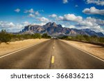 A Long Remote Road Leading To...
