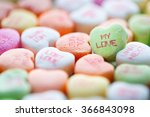Colorful Conversation Heart...