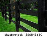 horse farm fence | Shutterstock . vector #366845660