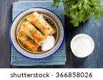 kelem dolmasi   stuffed cabbage ...   Shutterstock . vector #366858026