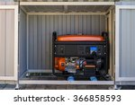 an electrical generator in a... | Shutterstock . vector #366858593