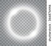 round shiny frame background... | Shutterstock .eps vector #366876446