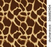 Giraffe Skin Seamless Pattern ...