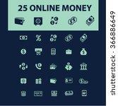 online payment  money  banking  ... | Shutterstock .eps vector #366886649