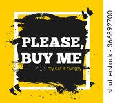 buy me. donation motivation... | Shutterstock .eps vector #366892700