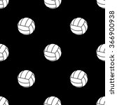 volleyball sport icon | Shutterstock .eps vector #366900938