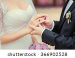 love and marriage. wedding... | Shutterstock . vector #366902528