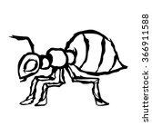 ant | Shutterstock .eps vector #366911588