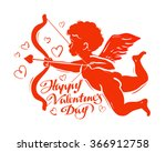 greeting card happy valentine's ... | Shutterstock .eps vector #366912758