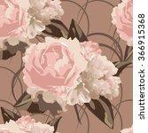 beautiful  seamless  vintage... | Shutterstock .eps vector #366915368
