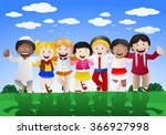 illustration of  various... | Shutterstock . vector #366927998