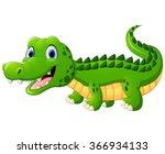 cartoon crocodile | Shutterstock .eps vector #366934133