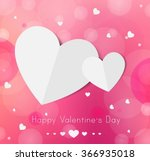 happy valentines day card | Shutterstock .eps vector #366935018