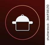 pot icon | Shutterstock .eps vector #366938150