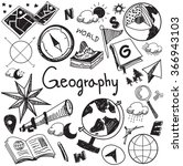 geography and geology education ... | Shutterstock .eps vector #366943103