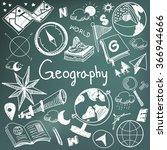 geography and geology education ... | Shutterstock .eps vector #366944666