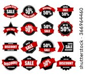 label sale collection. | Shutterstock .eps vector #366964460
