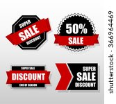 label sale template. | Shutterstock .eps vector #366964469
