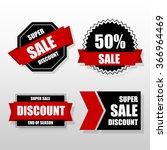 label sale template. | Shutterstock .eps vector #366964469