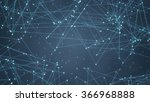 glowing futuristic network.... | Shutterstock . vector #366968888