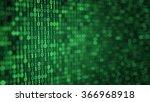 Green Digital Binary Data Clos...