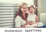 happy loving family. mother and ...   Shutterstock . vector #366977990