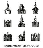 church building  christian... | Shutterstock .eps vector #366979010