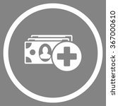 medical expences vector icon.... | Shutterstock .eps vector #367000610