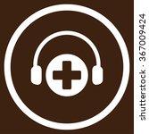 hospital call service vector... | Shutterstock .eps vector #367009424
