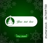 christmas message with a...   Shutterstock .eps vector #367009700