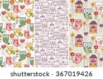 vector seamless pattern | Shutterstock .eps vector #367019426