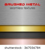brushed metal seamless texture... | Shutterstock .eps vector #367036784