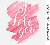 vector image.love happy... | Shutterstock .eps vector #367056236
