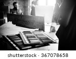designer architect stationary... | Shutterstock . vector #367078658