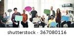 speech bubbles communication... | Shutterstock . vector #367080116