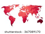 world map vintage artwork  ... | Shutterstock . vector #367089170
