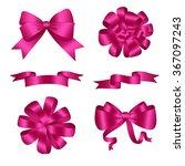 Bows And Ribbons Pink Set....