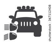 headlight icon.  | Shutterstock .eps vector #367112408